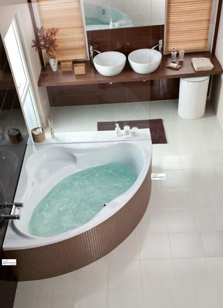 werksverkauf badewanne eckwanne 4 gr en 150 140 133 whirlpool system 549 ebay. Black Bedroom Furniture Sets. Home Design Ideas
