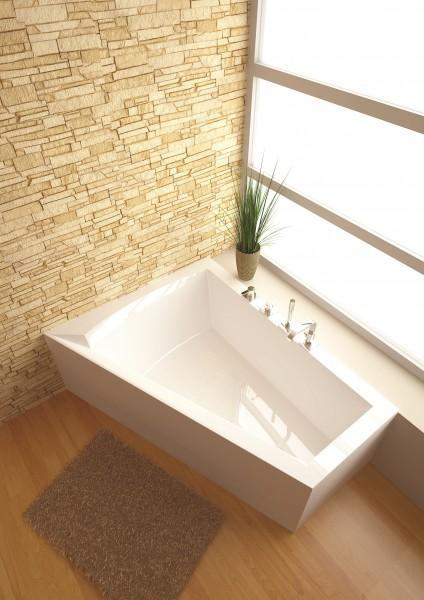 raumspar badewanne galia ii 175 x 135 x 52 cm links. Black Bedroom Furniture Sets. Home Design Ideas