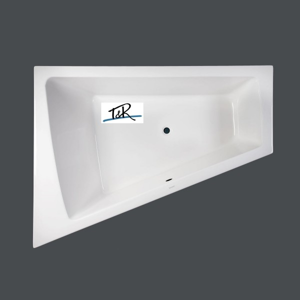 duravit paiova badewanne 180 x 140 cm l mit t r design whirlpool delux. Black Bedroom Furniture Sets. Home Design Ideas